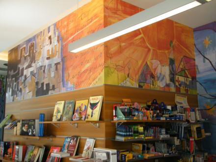 """Mural """"El Carmen, Librería & Papelería"""""""
